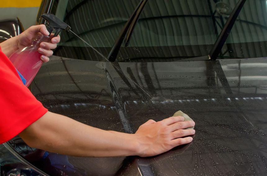 claying a car