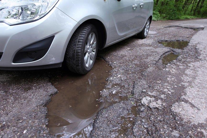 knocking on potholes