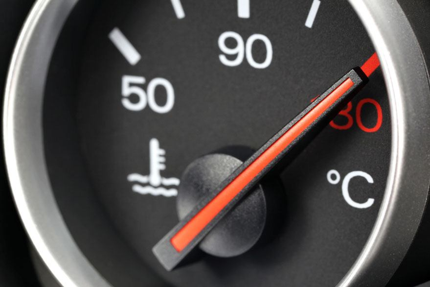 signs of car overheating